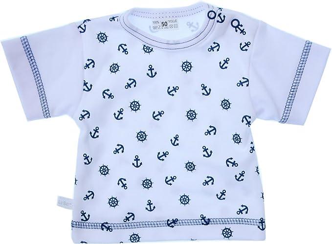 Hemdchen Baby Shirt Wei/ß 50 56 62 68 74 mit Druckkn/öpfe