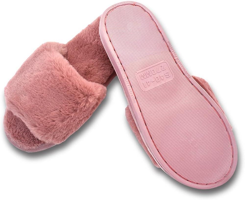 Mujer Elegante Bettenhaus Zapatos Warmer Peluche Chanclas algod/ón Pantuflas Antideslizantes Guantes para oto/ño//Invierno