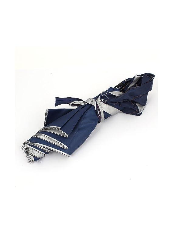 Amazon.com : eDealMax Viajes Campo Cinta elástica Doblado Lluvia paraguas de sol Sombrero gris Plata : Sports & Outdoors