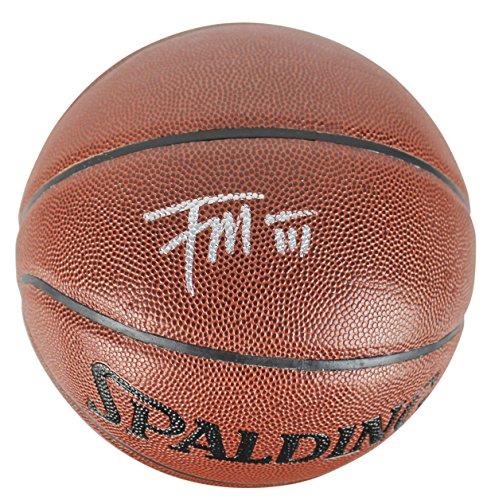 Kings Frank Mason III Authentic Signed Basketball Autographed BAS (Mason Autographed Basketball)