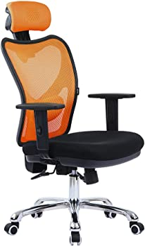 LSCING High Back Comfortable Mesh Office Chair