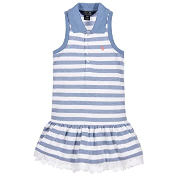 39997f6250ab Image Unavailable. Image not available for. Color  Polo Ralph Lauren Girl s  Stretch ...