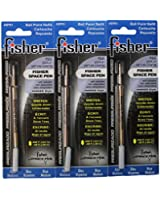 Fisher Space Pen SPR1 Refills for Bullet Fisher Space Pen, Blue,3 Pack