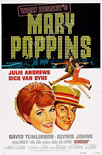 Poster USA - Disney Classics Mary Poppins Technicolor Poster GLOSSY FINISH - TECN021 (24