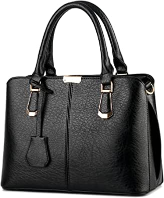 Cheap Women Leather Satchel Handbag Shoulder Tote Mesenger Crossbody Bag PU Bags