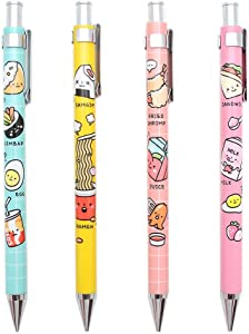 Convenience Store Foods Stationery Mechanical Pencil 1PC : Bento Box (Peach)