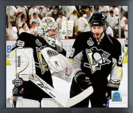 outlet store 60854 6bca3 Amazon.com: Marc-Andre Fleury & Kris Letang Pittsburgh ...