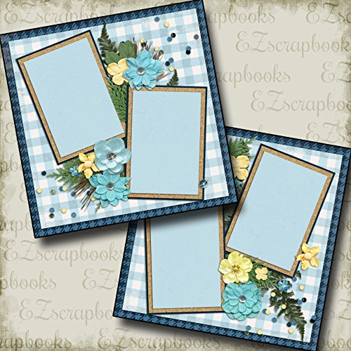 FOREST GIRL - Premade Scrapbook Pages - EZ Layout 2089 ()