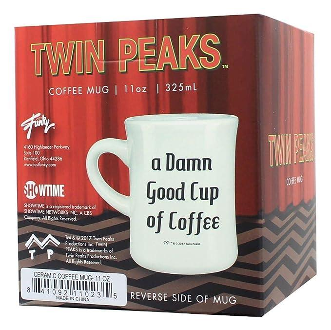 Cup Mug Ceramic Good Coffee Peaks 11oz Twin Of OvwNm8n0
