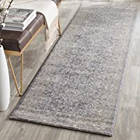Safavieh Sofia Collection SOF330B Vintage Light Grey and Beige Distressed Runner (22 x 8)