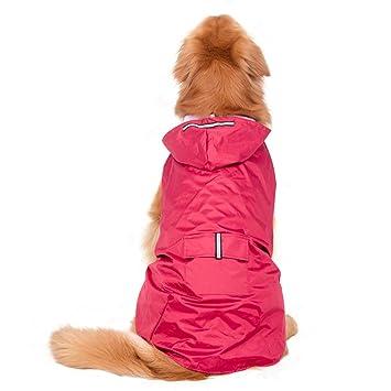 Große Sneff Regenmantel Kapuze Jackets Hund Wasserdicht Regenjacke Hunde Sicheren Reflektierenden Dog Raincoat Für Trade Mit XZPwOkTliu