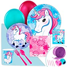 Enchanted Unicorn Party Supplies - Value Party Pack
