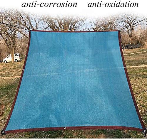 HRD Rete Tessuta Schermante Frangivista, Rete Ombreggiante/Ombra 90%, Anti UV, Tenda Parasole Esterno, Blu