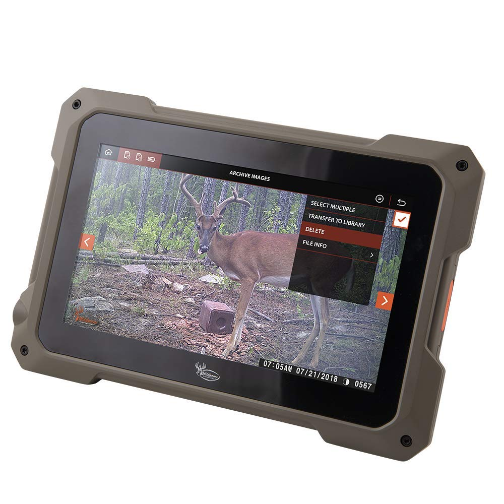Wild Game Innovations VU70 Trail Tablet Dual Sd Card Viewer by Wildgame Innovations