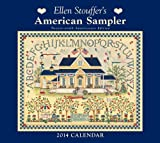 img - for Ellen Stouffer's American Sampler 2014 Deluxe Wall Calendar book / textbook / text book