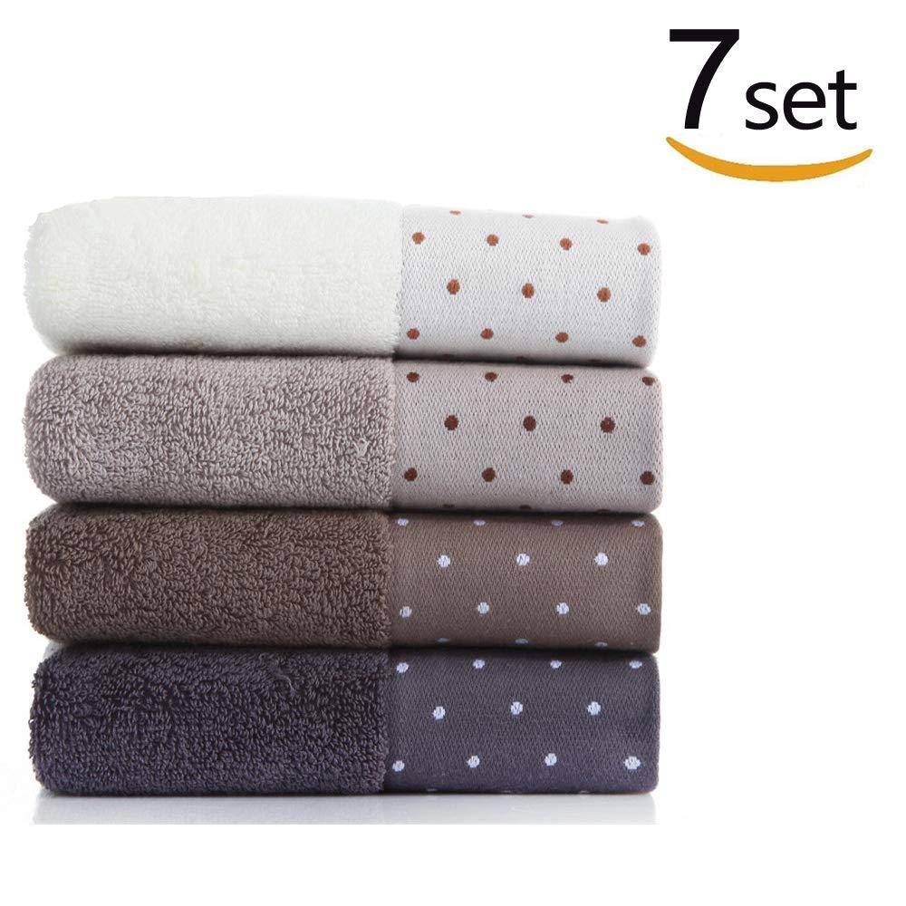 COLORWING 7 SST 34x72 cm 100% Baumwolle Saugfähig Einfarbig Weichen Bequemen Männer Frauen Badezimmer Reise Hand Gesicht Handtuch