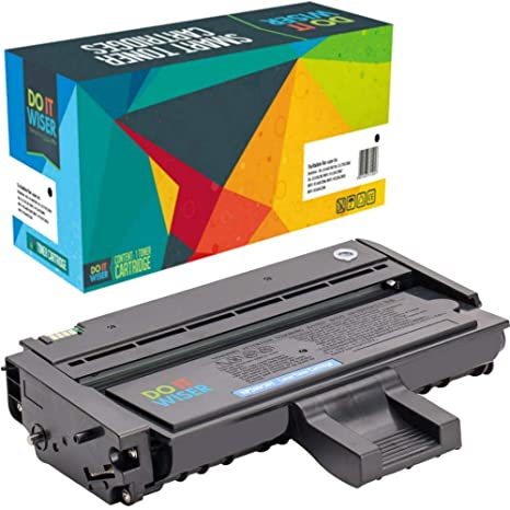 Do it Wiser Compatible Toner Cartridge Replacement for Ricoh Aficio SP  201Nw SP 213Nw SP 213SFNw SP 213SNw SP 204SFNw SP 204SNw - 407258 2,600  Pages
