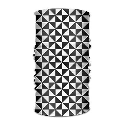 451ac902f55 Amazon.com  PIOL Colored Diamond Squares Headwear Caps Elastic Head ...