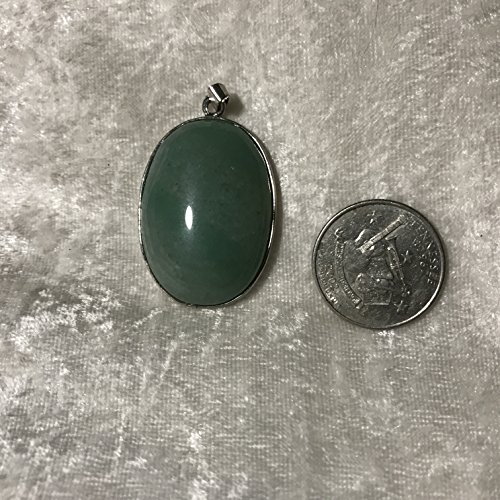rine gemstone oval cabochon pendant (Aventurine Cabochon Gems)