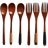 Annakideya Juego de cucharas y Tenedores pequeños