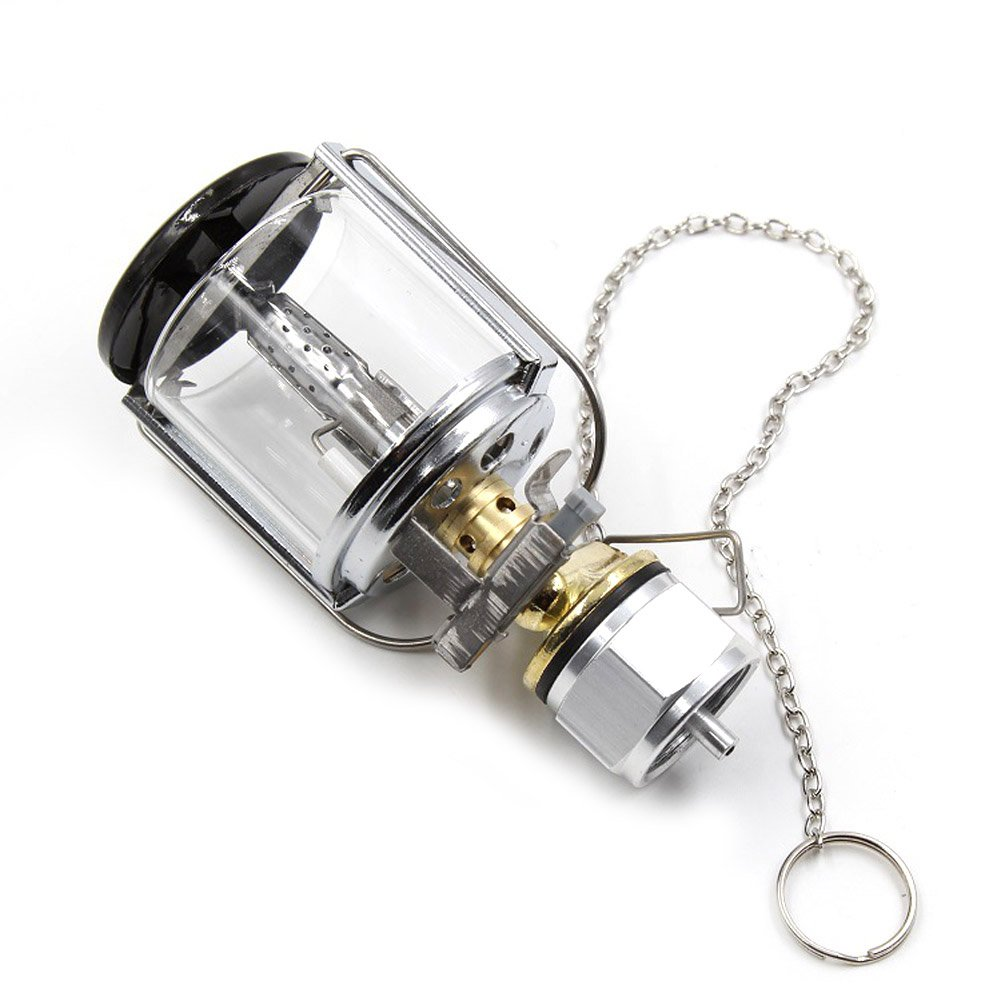 Outdoor Portable Gas Lantern Camping Mini Gas Light Tent Lamp Torch Lamp For Camping Hiking Emergency Gas Lantern Lights Campcookingsupplies