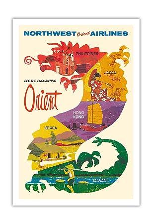 Besuchen Sie den zuaberhaften Orient - Nord-West Orient Airlines ...