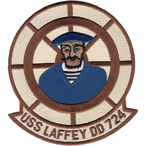 DD-724 USS Laffey Patch - Version B