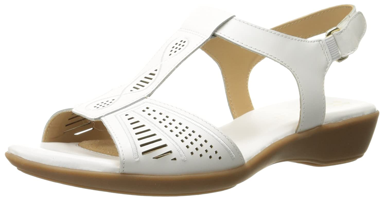 3fc19fd0d4fb Naturalizer Women s Network Flat Sandal  Amazon.ca  Shoes   Handbags
