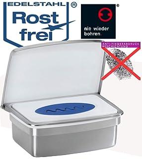 Zuruck Feuchttucherbox Aus Hochwertigem Edelstahl Kein Bohren Austrocknen Der Tucher
