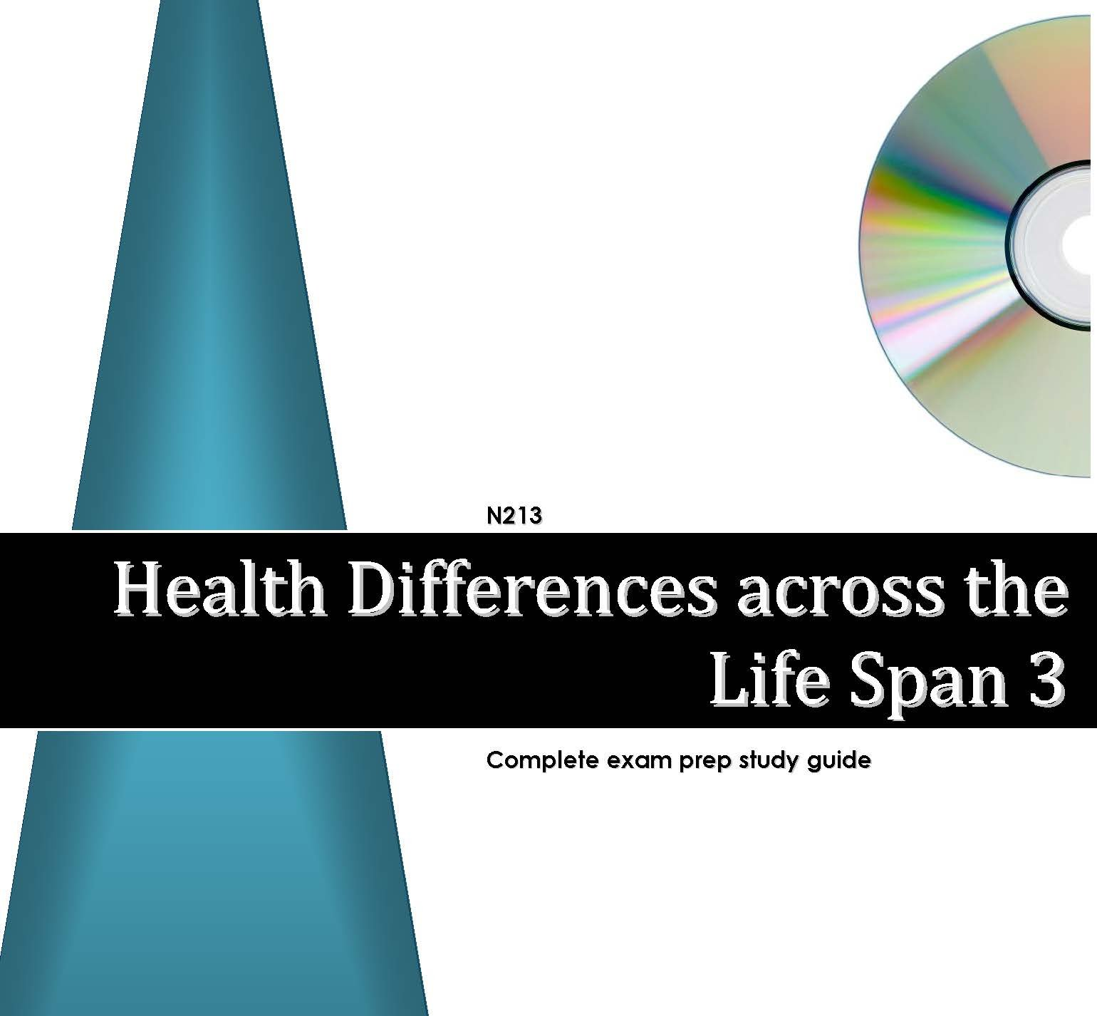 N213 Health Differences Across The Life Span 3 Is A Diagram On How To Print Sheet Kelsey Excelsior Press Comprehensive Exam Prep Study Guide 9781936452064 Mystudygroup101 Llc Books