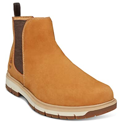15163b476864 Timberland Mens Radford PT Chelsea Hiking Leather Walking Ankle Boot -  Wheat - 10.5