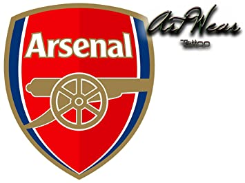 Temporare Tatowierungen Equipe Fussball England Arsenal Fc