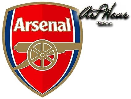 Tatuaje Temporal Equipe fútbol - Inglaterra Arsenal FC - artwear ...