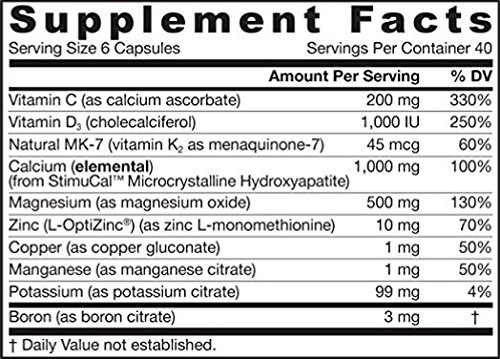 Jarrow Formulas: Bone Up Hydroxyapatite Calcium, 480 capsules