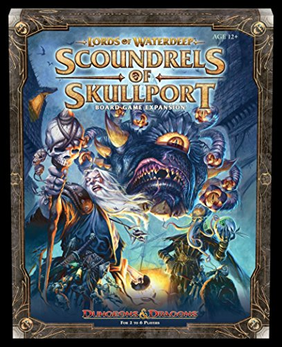 Wizards of the Coast Lords of Waterdeep: Scoundrels of Skullport Expansion Board Game