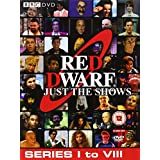 Red Dwarf Just The Shows (Series 1 to 8) - 10-DVD Box Set ( Red Dwarf - Series I to VIII (52 Shows) )