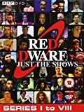 Red Dwarf Just The Shows (Series 1 to 8) - 10-DVD Box Set ( Red Dwarf - Series I to VIII (52 Shows) ) [ NON-USA FORMAT, PAL, Reg.2.4 Import - United Kingdom ]