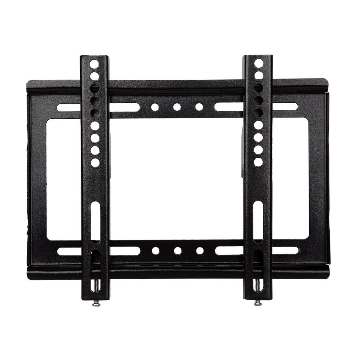 Ultra Slim Fixed Computer TV Wall Mount JinNiu 15-42 inch LCD LED 3D Plasma TV up to VESA 200x200mm and 55lbs Max Load