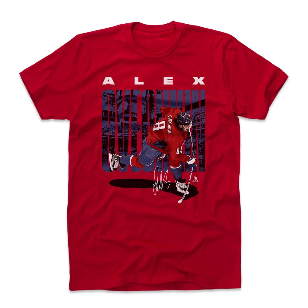 quality design a4523 cf931 500 LEVEL Alex Ovechkin Cotton Shirt (Large, Red ...