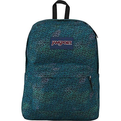 JanSport Superbreak Backpack (Wave Fade)
