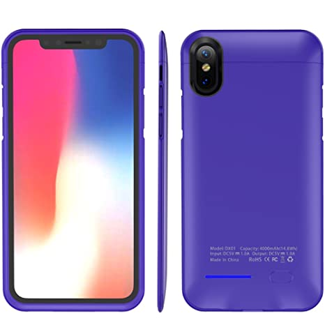 Amazon.com: iPhone X carcasa de batería, innovador ...