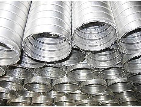 Tubo flexible Prodmax de aluminio disponible en todos los tama/ños 3 m