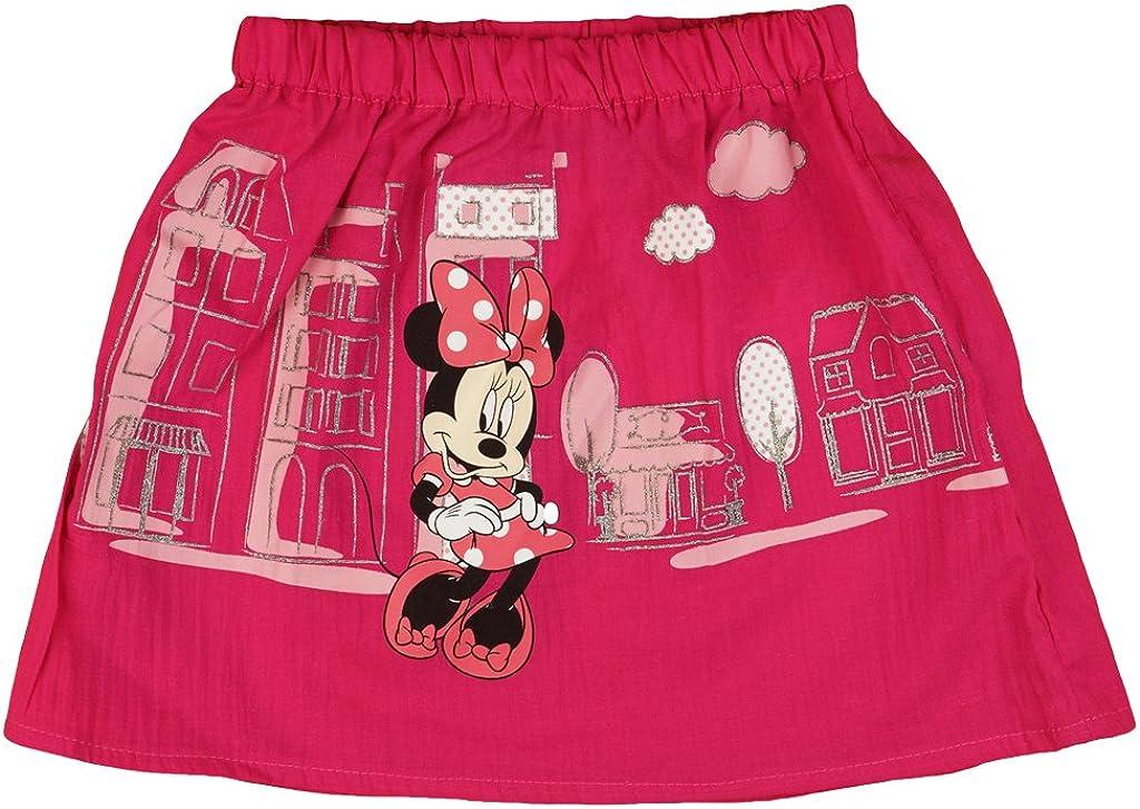 Disney - Minnie Mouse - Falda - trapecio - para niña Rosa 5 años ...
