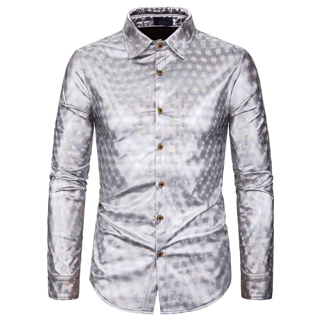 Paisley Floral Print Shirt Mans Button Down Daily Retro Casual Casual Slim Chic Print Work Regular Fit