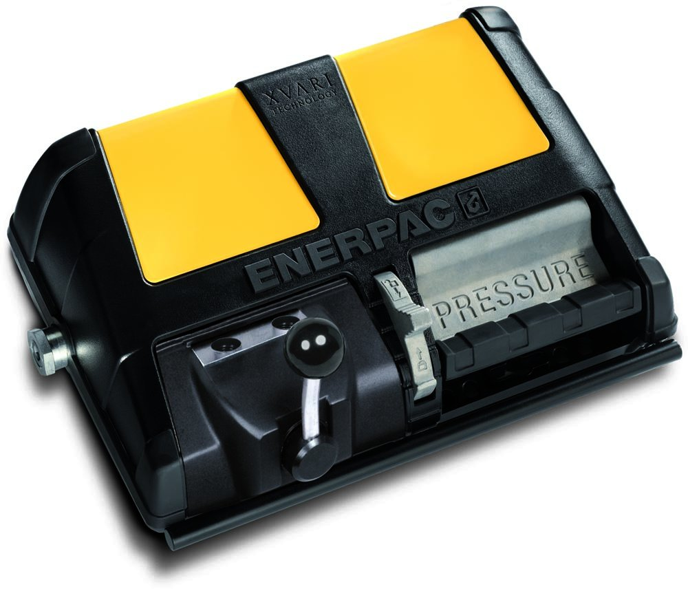 Enerpac XA-11V Double-Acting Air-Driven Foot Pump with 1 L Usable Oil Capacity