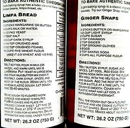 Dansukker Light Syrup (Ljus Sirap) and Dark Syrup (Mörk Sirap), 26.2 fl oz Bottles in a Gift Box (Pack of 2)