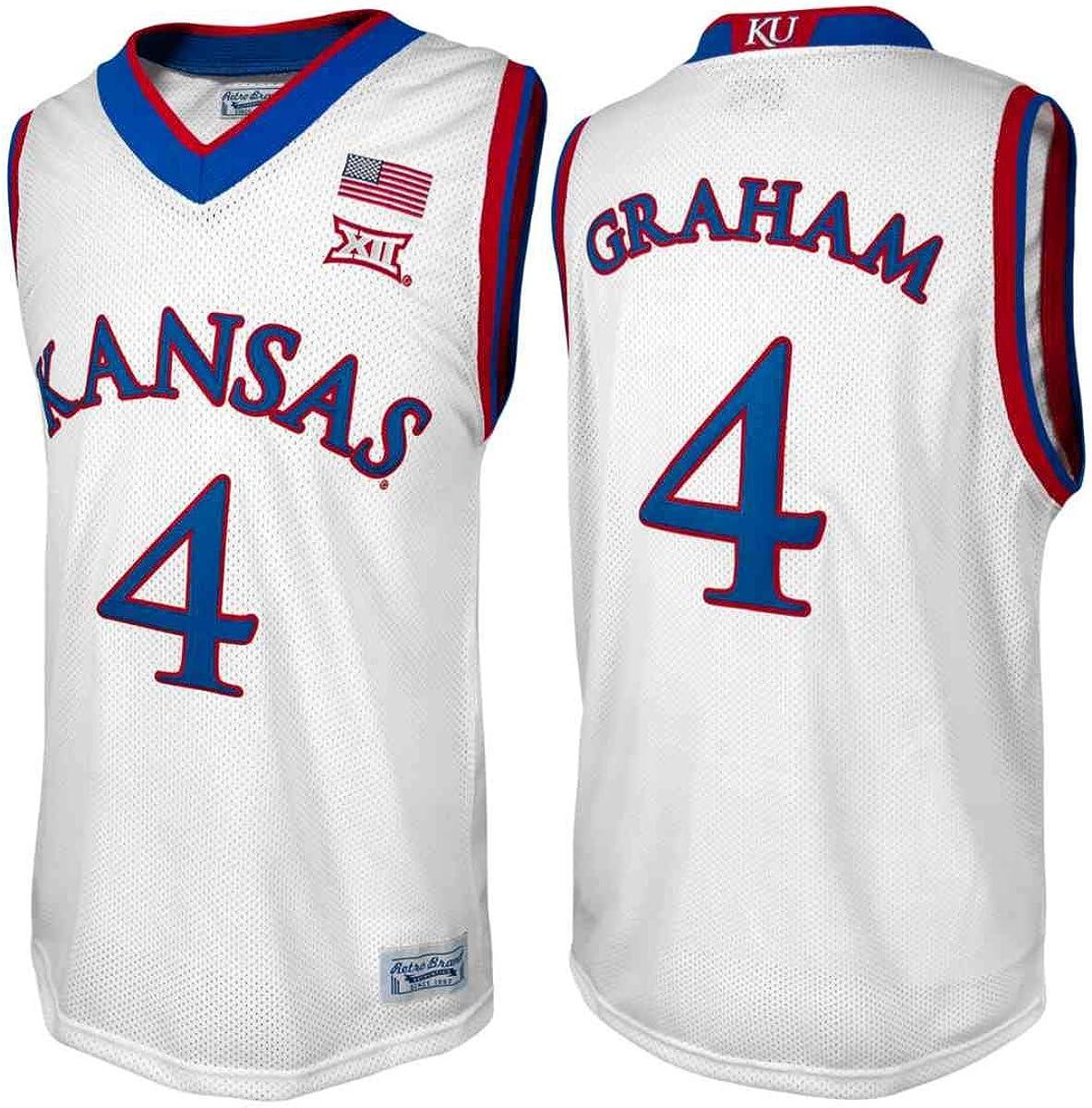 Devonte' Graham #4 Retro Brand Authentic Basketball White Jersey