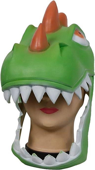 molezu T Rex máscara de Dinosaurio para la Piel, látex, para ...