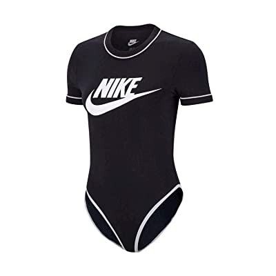 Nike Women's Bodysuit Sporstwear Heritage Black BV5005-010: Clothing