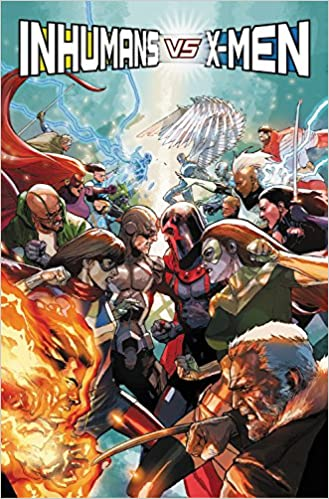 Inhumans vs X-Men Tome 03